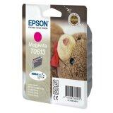 Tusz Oryginalny Epson T0613 (C13T06134010) (Purpurowy)