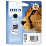 Tusz Oryginalny Epson T0711 (C13T07114010) (Czarny) do Epson Stylus SX600 FW