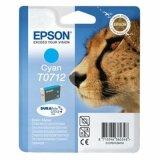 Tusz Oryginalny Epson T0712 (C13T07124010) (Błękitny) do Epson Stylus SX600 FW