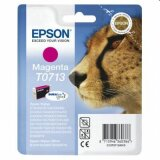 Tusz Oryginalny Epson T0713 (C13T07134010) (Purpurowy) do Epson Stylus SX600 FW