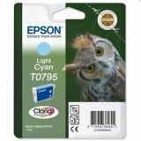Tusz Oryginalny Epson T0795 (C13T07954010) (Jasny błękitny)