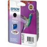 Tusz Oryginalny Epson T0801 (C13T08014011) (Czarny)