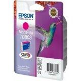 Tusz Oryginalny Epson T0803 (C13T08034011) (Purpurowy)