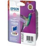 Tusz Oryginalny Epson T0806 (C13T08064011) (Jasny purpurowy)