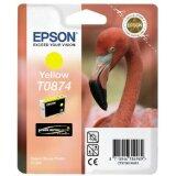 Tusz Oryginalny Epson T0874 (C13T08744010) (Żółty)