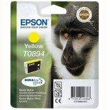 Tusz Oryginalny Epson T0894 (C13T08944011) (Żółty)