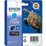 Tusz Oryginalny Epson T1572 (C13T15724010) (Błękitny)