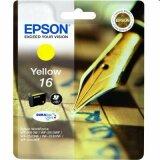 Tusz Oryginalny Epson T1624 (C13T16244010) (Żółty)
