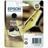 Tusz Oryginalny Epson T1631 (16XL) (C13T16314010) (Czarny)