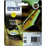 Tusz Oryginalny Epson T1634 (16XL) (C13T16344010) (Żółty)