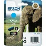 Tusz Oryginalny Epson T2422 (C13T24224010) (Błękitny)