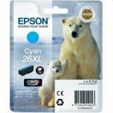 Tusz Oryginalny Epson T2632 (C13T26324010) (Błękitny)
