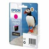 Tusz Oryginalny Epson T3243 (Purpurowy)