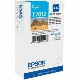 Tusz Oryginalny Epson T7012 (C13T70124010) (Błękitny)