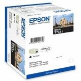 Tusz Oryginalny Epson T7441 (C13T74414010) (Czarny)
