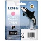 Tusz Oryginalny Epson T7606 (C13T76064010) (Jasny purpurowy)