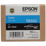 Tusz Oryginalny Epson T8502 (C13T850200) (Błękitny)