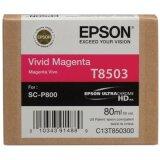 Tusz Oryginalny Epson T8503 (C13T850300) (Purpurowy)