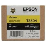 Tusz Oryginalny Epson T8504 (C13T850400) (Żółty)