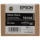 Tusz Oryginalny Epson T8508 (C13T850800) (Czarny matowy)