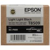 Tusz Oryginalny Epson T8509 (C13T850900) (Jasny jasny czarny)