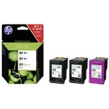 Tusz Oryginalny HP 2x 301BK + 301C (E5Y87EE) do HP Officejet 4630 e-All-in-One