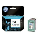 Tusz Oryginalny HP 351 (CB337EE) (Kolorowy)