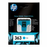 Tusz Oryginalny HP 363 (C8771E) (Błękitny) do HP Photosmart D7300