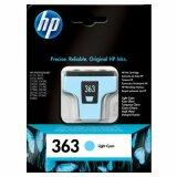Tusz Oryginalny HP 363 (C8774E) (Jasny błękitny)