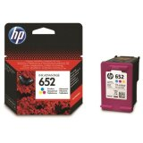 Tusz Oryginalny HP 652 (F6V24AE) (Kolorowy) do HP DeskJet Ink Advantage 3636