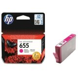 Tusz Oryginalny HP 655 (CZ111AE) (Purpurowy) do HP Deskjet Ink Advantage 6525 e-All-in-One