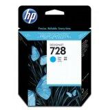 Tusz Oryginalny HP 728 (F9J63A) (Błękitny) do HP DesignJet T730