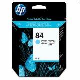 Tusz Oryginalny HP 84 (C5017A) (Jasny błękitny) do HP Designjet 70
