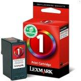 Tusz Oryginalny Lexmark 1 (18CX781E) (Kolorowy)