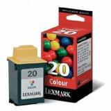 Tusz Oryginalny Lexmark 20 (15MX120E) (Kolorowy)