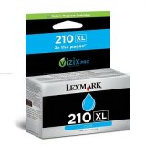 Tusz Oryginalny Lexmark 210XL (14L0175E) (Błękitny)