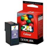Tusz Oryginalny Lexmark 24 (18C1524E) (Kolorowy)