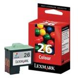 Tusz Oryginalny Lexmark 26 (10N0026E) (Kolorowy)