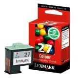 Tusz Oryginalny Lexmark 27 (10NX227E) (Kolorowy) do Lexmark Z35