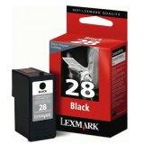 Tusz Oryginalny Lexmark 28 (18C1428E) (Czarny)