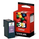 Tusz Oryginalny Lexmark 33 (18CX033E) (Kolorowy)