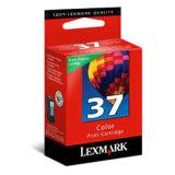 Tusz Oryginalny Lexmark 37 (18C2140E) (Kolorowy) do Lexmark X4650