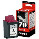 Tusz Oryginalny Lexmark 70 (12AX970E) (Czarny)
