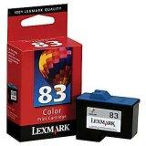 Tusz Oryginalny Lexmark 83 (18L0042, 18LX042) (Kolorowy)
