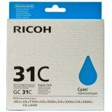 Tusz Oryginalny Ricoh GC-31C (405689) (Błękitny)