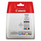 Tusze Oryginalne Canon CLI-571 CMYK (0386C005) (czteropak) do Canon Pixma TS5055