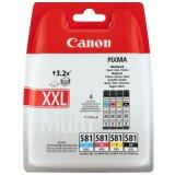 Tusze Oryginalne Canon CLI-581 XXL CMYK (1998C005) (czteropak)