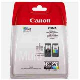 Tusze Oryginalne Canon PG-560 + CL-561 (3713C006) (komplet)