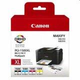 Tusze Oryginalne Canon PGI-1500 CMYK (9182B004) (komplet)