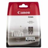 Tusze Oryginalne Canon PGI-35 (1509B012) (Czarne) (dwupak) do Canon PIXMA iP110 + bateria